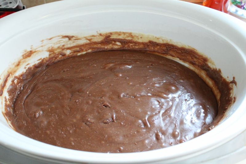 slow cooker crockpot mars bar chocolate fudge (8)