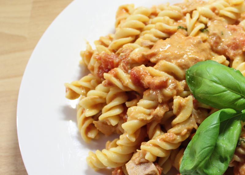 tomato and mascapone pasta sauce